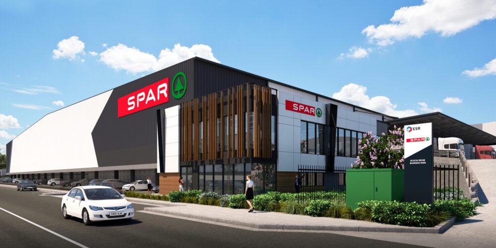 CIP Constructions announce the award of building contract for ESR's new Acacia Ridge facility, SPAR.