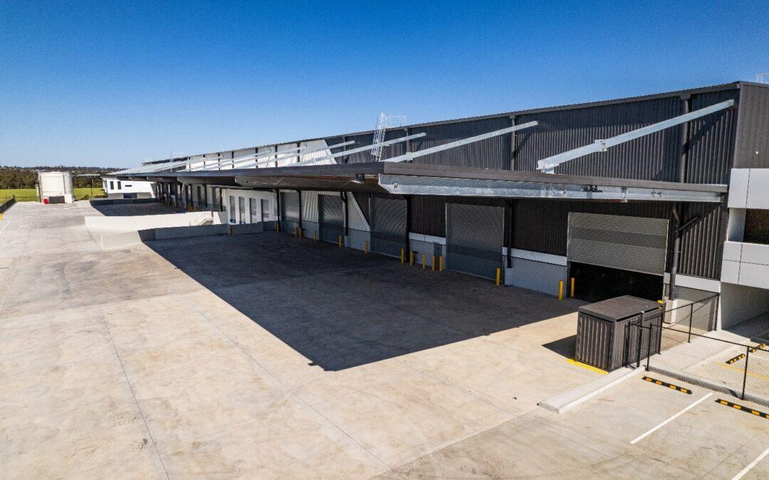 CIP Constructions commences handover as ESR Australia's Speculative Facility achieves Practical Completion (PC).