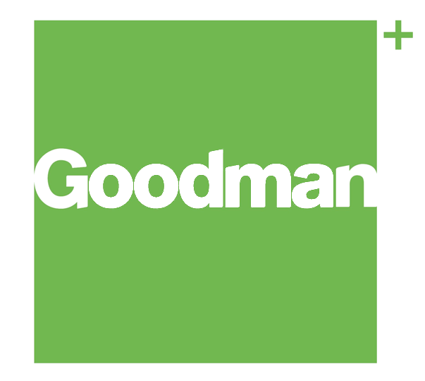 Goodman Group logo | CIP Constructions